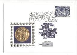 18103 - Cover Christkindl 01.01.1971 N°000358 Sur 2500Ex. - Natale