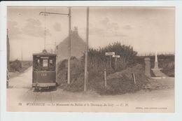 WIMEREUX - PAS DE CALAIS - LE MONUMENT DU BALLON ET LE TRAMWAY DU GOLF - Francia