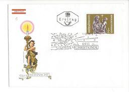 18105 - Cover Christkindl Ersttag 01.12.1971 - Noël