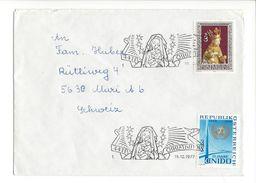 18108 - Cover Christkindl  19.12.1977 Pour Muri Schweiz - Noël
