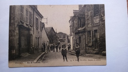 Carte Postale Ancienne De Onzain , Rue De L Aumone - France