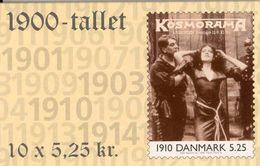 DENMARK, 2000, Facit HS 106, Film Asta Nielsen 1910, Mi 1236 - Markenheftchen