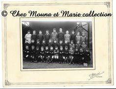 TARARE- CLASSE DE GARCONS - RHONE ECOLE - PHOTO CDV 27 X 21 CM - Anonymous Persons