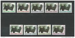 "Nle-Caledonie Taxe YT 49 à 57 "" Chauve-souris "" 1983 Neuf** - Postage Due"