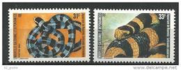 "Nle-Caledonie YT 475 & 476 "" Serpents "" 1983 Neuf** - New Caledonia"