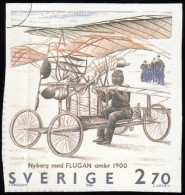 SWEDEN - Scott #1516e Swedish Aviation History / Used Imperf. Stamp - Zweden