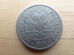 Haiti  50  Centimes  1908  Km 56 - Haïti