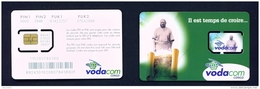 CONGO DR (KINSHASA)  - Mint Unused SIM Phonecard  Vodacom  Stock Scan - Congo