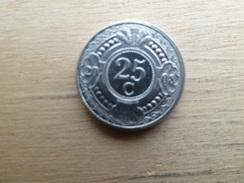 Antilles  Neerlandaises    25  Cents  2008  Km 35 - Antilles Neérlandaises