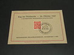 Germany 1947 Ratzeburg Special Cancel On Postcard *28715 - Ohne Zuordnung