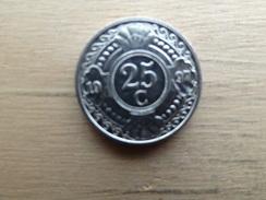 Antilles  Neerlandaises    25  Cents  1997  Km 35 - Antilles Neérlandaises
