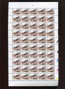 Belgie 2987 2987P8a FLUOR Buzin  21Fr/0.52€ 11/12/2002 Pltnr 2 Full Sheet Volledig Vel RRR - 1985-.. Oiseaux (Buzin)