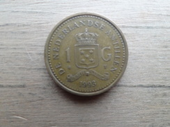 Antilles  Neerlandaises  1  Gulden  1993   Km 37 - Antilles Neérlandaises