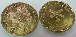 55 VAUCOULEURS JEANNE D'ARC JEHANNE 1412 - 2012 MÉDAILLE ARTHUS BERTRAND PAS MONNAIE DE PARIS JETON MEDALS TOKEN COINS - 2012