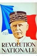 WW2 - Photo Affiche De Vichy - REVOLUTION NATIONALE - 1939-45
