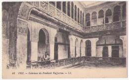 (Maroc) 333, Fez, LL 42, Intérieur Du Fondouk Nejjarine, D'un Carnet - Fez