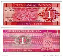 NETHERLAND S ANTILLES 1 GULDEN 1970 P 20 UNC - Nederlandse Antillen (...-1986)
