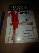 1957  Documentation Pour Machine à Tricoter PASSAP COMBI - Sciences & Technique