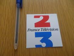 Autocollant - FRANCE TELEVISION 2 3 - Autocollants