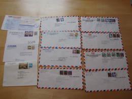 Korea  Cover  Airmail             Free Postage - Corée Du Sud