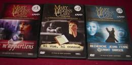 4 DVD  Mary Higgins  Ckark  N° 1 - N° 2 -  N° 3 - N° 4 - Policiers