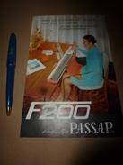 1957  Documentation Pour Machine à Tricoter PASSAP F 200 - Sciences & Technique