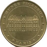75 PARIS MUSÉE PICASSO MÉDAILLE MONNAIE DE PARIS 2006 JETON MEDALS TOKEN COINS - Monnaie De Paris
