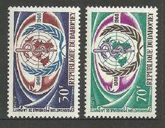 DAHOMEY 1968 WORLD HEALTH WHO MEDICAL SET MNH - Benin - Dahomey (1960-...)