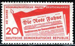 DDR - Michel 672 - ** Postfrisch (B) - 20Pf  40 Jahre KPD - Neufs