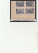 AFGHANISTAN N° 341 BLOC DE 4 NEUF XX -BORD DE FEUILLE -ANNEE 1948- COTE + De 100 € - Afghanistan