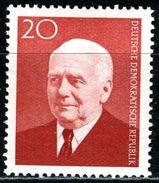 DDR - Michel 673 - ** Postfrisch (C) - 20Pf  Wilhelm Pieck - [6] République Démocratique