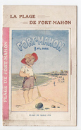 Rare Livret  FORT-MAHON Plage Avec 2 Cartes Portales Prêtes à Découper Et Cahier Intérieur 12 P + 2 Cartes Postales - Tourism Brochures