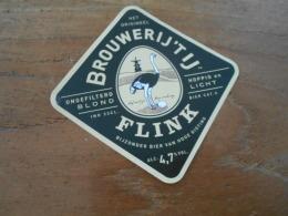ETIQUETTE BIERE 4T IJ FLINK - Beer