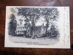 C.P.A. U. S. A. : Connecticut Washington's Headquarters New London, Stamp 1905 - Etats-Unis