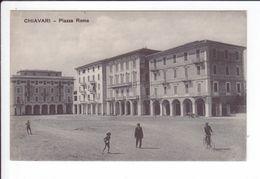 CPA - CHIAVARI - Piazza  Roma - Italy