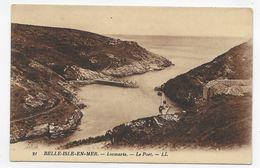 BELLE ILE EN MER - N° 21 - LOCMARIA - LE PORT - CPA NON VOYAGEE - Belle Ile En Mer