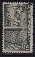 1934 Colonie Emissioni Generali Calcio 10 C. US - Emissions Générales