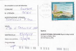 COMMEMORATIVO -  Card_ Cartolina Postale  / Cent. 0,60 Isolato - 6. 1946-.. Repubblica