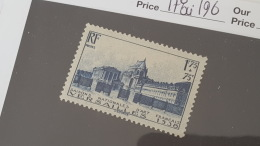 LOT 374409 TIMBRE DE FRANCE NEUF** N°379 VALEUR 46 EUROS - Unused Stamps