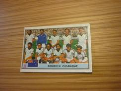 New Zealand National Football Team Spain World Cup 1982 Greek Ntogiakos '80s Game Trading Card - Sports