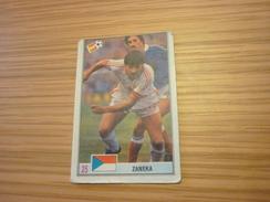 Petr Janečka Czechoslovakia Football Footballer Spain World Cup 1982 Greek Ntogiakos '80s Game Trading Card - Sports