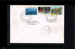 1976 - Netherlands Cover - Transport - Zeppelins - Non-stop Polar Ride [NL481_17] - Period 1949-1980 (Juliana)