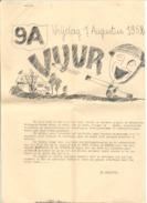 Belgisch Leger - Revue Van 9A 1952 -  Elsenborn 1945 - Armée Belge - Artillerie ? (b216) - Magazines & Newspapers