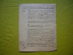 Billet 1786 Taxe Sur Le Logement Des Gardes De Sa Majesté 22ème Compagnie - Documenti Storici