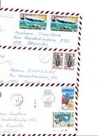 LOT DE 43 ENVELOPPES DE LA MAURITANIE POUR LA BELGIQUE, VOIR SCANS - Mauritanie (1960-...)