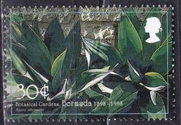 Bermuda, 1998 - 30c Agave Attenuata - Nr.764 Usato° - Flora