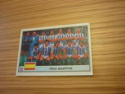 Real Madrid Spanish Team Football Footballer Spain World Cup 1982 Greece Greek Ntogiakos '80s Game Trading Card - Sports