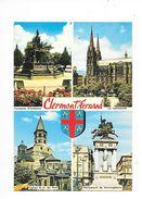 CLERMONT-FERRAND  (cpsm 63)   Multi-Vues - Clermont Ferrand