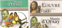 DVD   Visite  Virtuelle  Des  Musées  Du  Louvre  Et  D'Orsay   (  4  DVD ) - Documentary