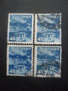 JAPON N°510 X 4 Oblitéré - Japon